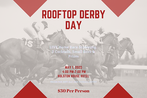 Derby Day at Holston House 5/1/21 4pm-7pm