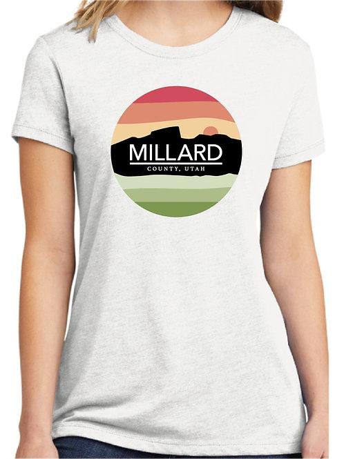 Millard County Logo Women's Fitted Tee