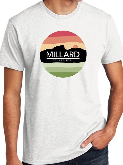 Millard County Logo Men's Fitted Tee