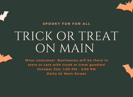 Trick or Treat on Main