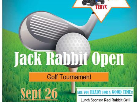 Jack Rabbit Open Golf Fundraiser