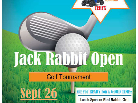 Jack Rabbit Open Golf Fundraiser