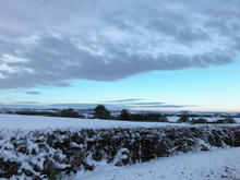 Winter in Fownhope, Herefordshire