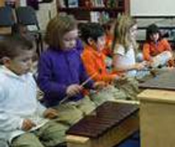PLAYING THE XYLOPHONES TOGETHER SQUARE