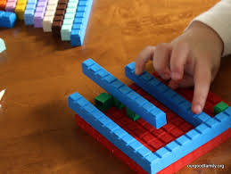 Using Math u see blocks