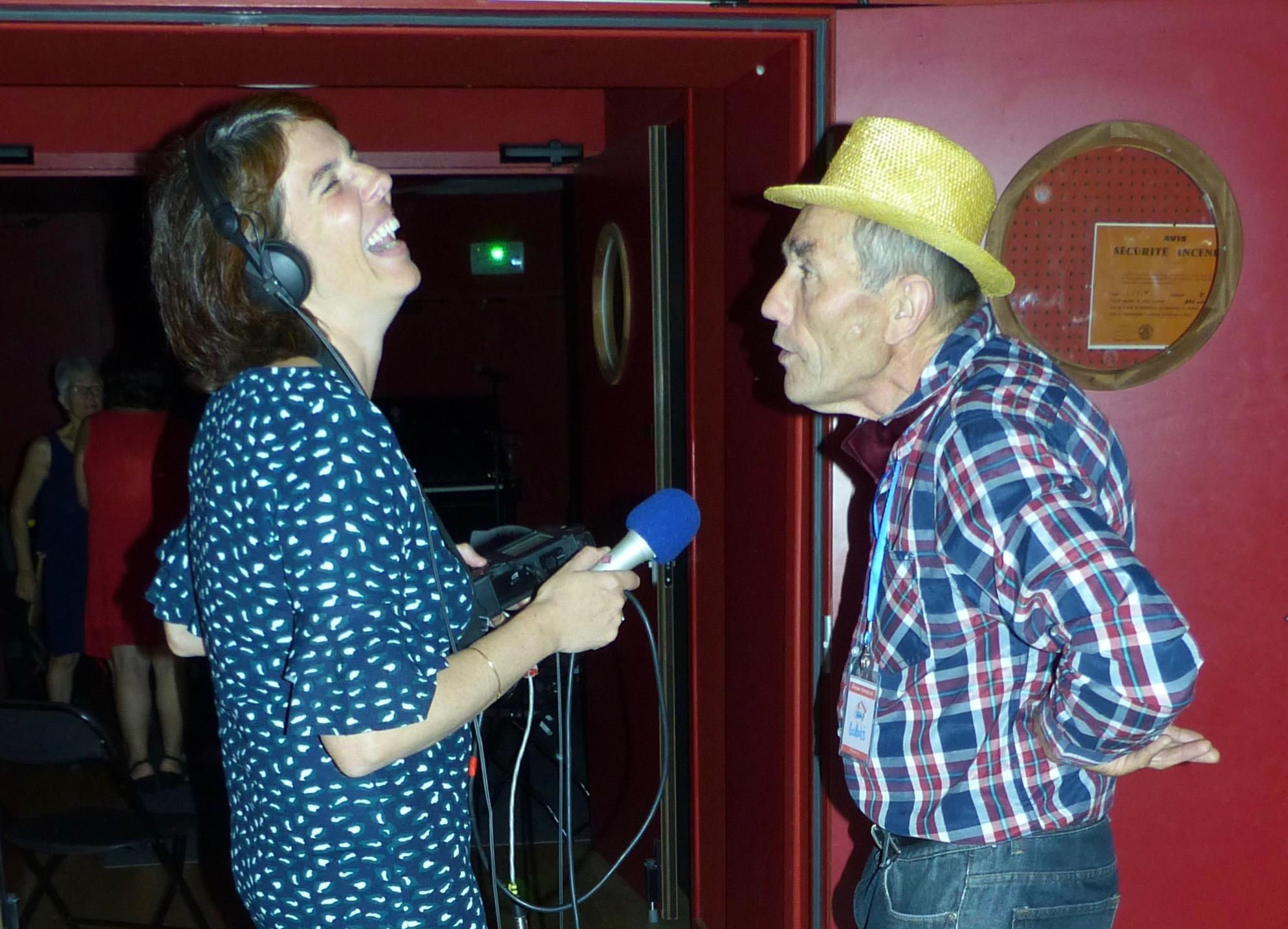 Radiola, la voix du festival