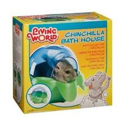 אמבטיית חול לצ'ינצ'ילה