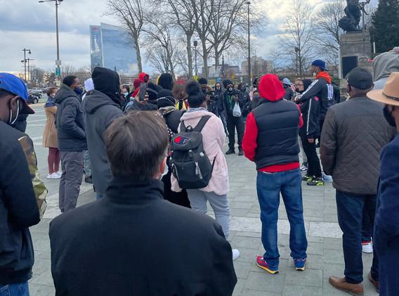 Padova listens on MLK Day