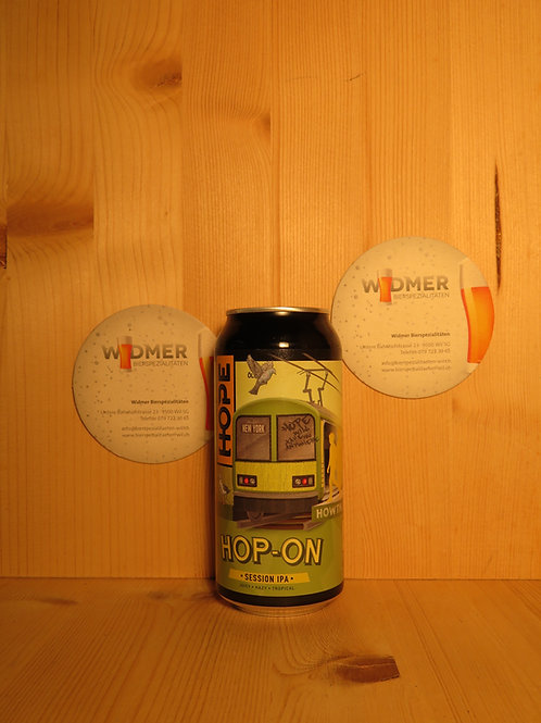 Hope Hop-On Session IPA, 44cl DS