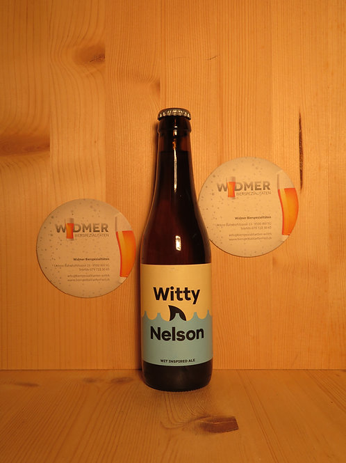 Vaat Witty Nelson Wit, 33cl