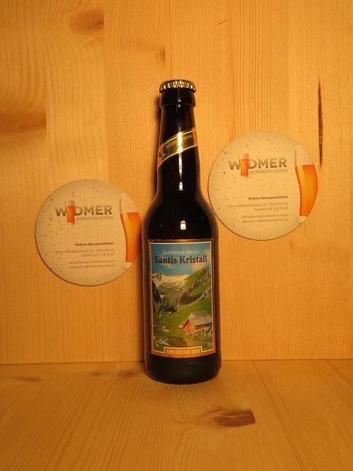 Appenzeller Bier Säntis Kristall 33cl