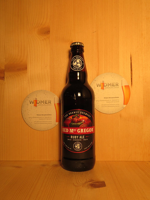 Orkney Island Red Mac Gregory Ruby Ale, 50cl