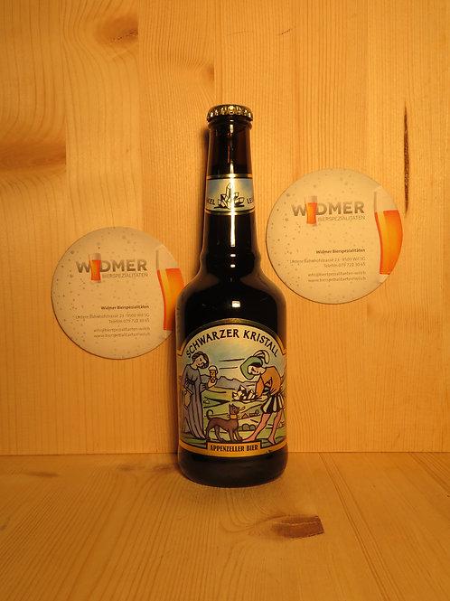 Appenzeller Bier Schwarzer Kristall 33cl