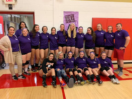 Purple Out at McCort
