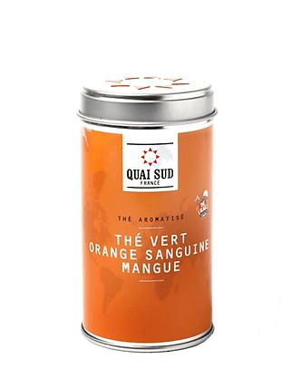 THÉ VERT GLACÉ ORANGE SANGUINE-MANGUE