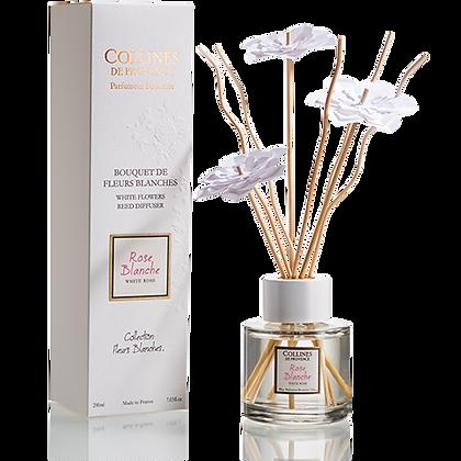 rose blanche bouquet  aromatique 200ml