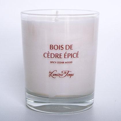 Bois de Cèdre Epicé