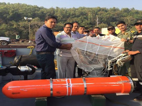 Indian Navy conducts successful maiden trial of indigenous 'SAHAYAK-NG' Air Droppable Container