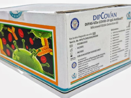 DRDO develops COVID-19 antibody detection kit 'DIPCOVAN'