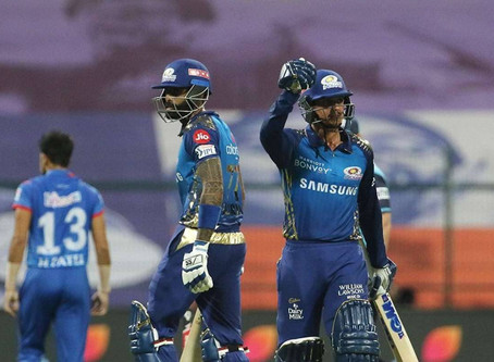 IPL 2020, MI vs DC: MI back on top of the points table as they beat DC by 5 wickets