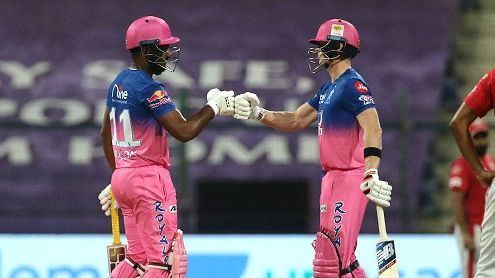 In the 50th match of the Indian Premier League (IPL) 2020, Rajasthan Royals (RR) beat Kings XI Punjab (KXIP) by 7 wickets at Sheikh Zayed Stadium in Abu Dhabi. Aided by consistent efforts given by RR's top batting line-up tonight, RR chased down by the KXIP's target in the 18th over itself. The 'Universe Boss' Chris Gayle's explosive innings of 99 runs off 63 balls helped KXIP give a decent target of 186 runs for the RR to chase tonight. Despite tonight's win against Kings XI Punjab, Rajasthan Royals still remains in danger as it stands at the 5th position in the points table of the 13th edition of IPL. Whereas, Kings XI Punjab are sitting comfortably at the 4th position in the points table of IPL 2020.