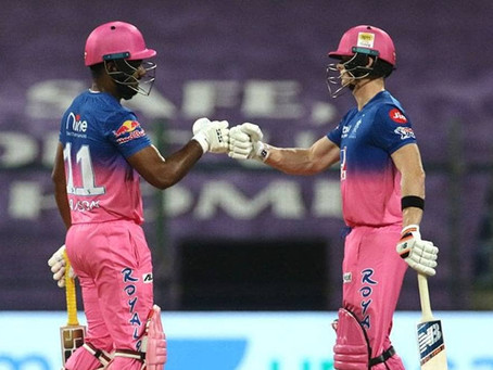 IPL 2020, KXIP vs RR: Gayle storm fades as RR beat KXIP by 7 wickets