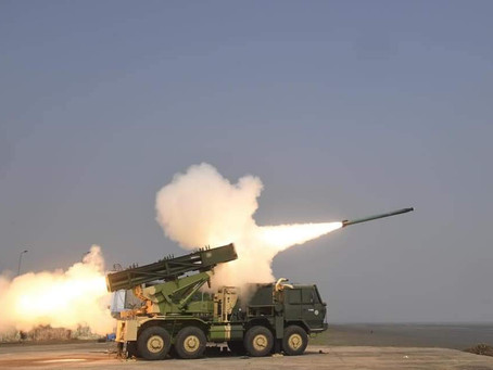 DRDO conducts a successful flight test of the Enhanced version of PINAKA Rocket System
