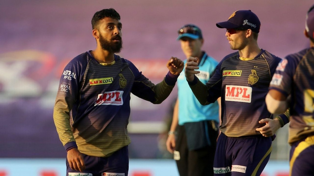 In the 42nd match of the Indian Premier League (IPL) 2020, Kolkata Knight Riders (KKR) beat Delhi Capitals (DC) by 59 runs at Sheikh Zayed Stadium in Abu Dhabi. Aided by Nitish Rana's impressive knock of 81 runs off 53 balls and Andre Russell's explosive knock of 64 runs off 32 balls, KKR gave an high target of 195 runs for the DC to chase tonight. Skipper Shreyas Iyer and Rishabh Pant played a steady partnership for the DC but remained unsuccessful in helping DC to successfully chase down the target given by KKR today. Varun Chakravarthy impressed everyone with him grabbing 5 wickets for the KKR in his spell of 4 overs today. Pat Cummins also impressed everyone with him being the most economical bowler in his spell of 4 overs while also grabbing 3 wickets today. Even with their loss against KKR today, DC continues to stand at the 2nd position in the points table of the 13th edition of IPL.