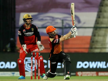 IPL 2020, SRH vs RCB (Eliminator): SRH advances into Qualifier 2 as they beat RCB by 6 wickets