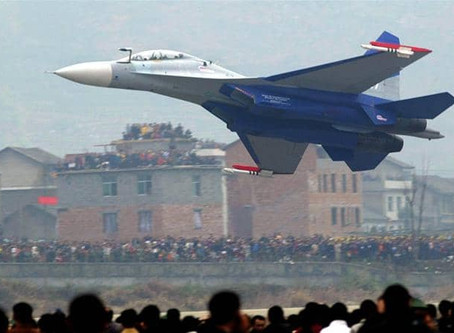 Chinese Fighter aircraft Su-30 & J-10 intrudes Taiwan's airspace in a 'severely provocative' measure