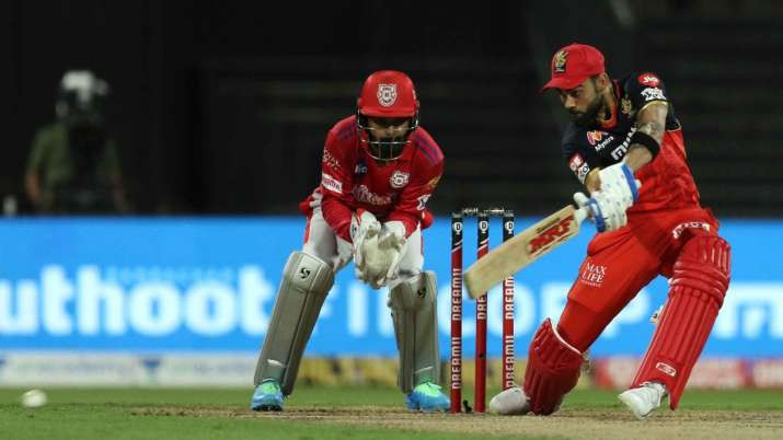 Skipper Virat Kohli won the toss and elected to bat first. Royal Challengers Bangalore has a slow start tonight. While openers Aaron Finch and Devdutt Padikkal lost their wickets in the early, Skipper Virat Kohli played a brilliant knock of 48 runs off 39 balls. Washington Sundar came early for the RCB to bat but failed to impress tonight as he lost his wicket after making 13 runs off 14 balls. Shivam Dube also joined Sundar after making only 23 runs off 19 balls tonight. After the fall of the duo, AB de Villiers came to the crease to rescue the sinking ship of RCB but remained unsuccessful as he lost his wicket after making just 2 runs tonight. Aided by Chris Morris's explosive cameo of undefeated 25 runs off 8 balls, the RCB was able to set a decent target of 172 runs for the KXIP to chase tonight. Mohammed Shami and Murugan Ashwin shined tonight with their impressive spell of 4 overs while also grabbing 2 wickets each. However, Ashwin remained the most economical bowler in his spell.