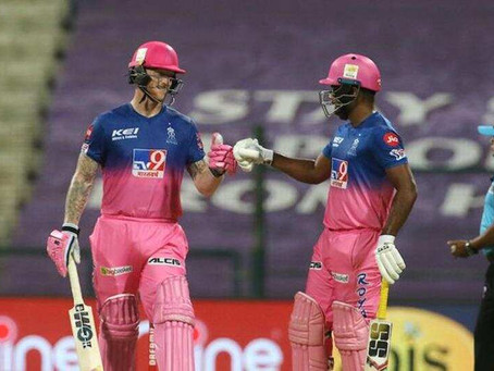 IPL 2020, RR vs MI: Ben Stokes & Sanju Samson's explosive knocks help RR beat MI by 8 wickets