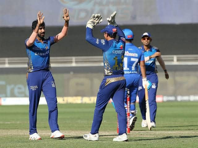 In the 51st match of the Indian Premier League (IPL) 2020, Mumbai Indians (MI) beat Delhi Capitals (DC) by 9 wickets at Dubai International Cricket Stadium. Aided by Ishan Kishan's explosive knock of 72 runs off 47 balls, MI successfully chased down the target given by DC tonight in the 15th over itself. Trent Boult and Jasprit Bumrah destroyed DC's batting line-up as they grabbed 3 wickets each in their respective spells of 4 overs today. DC batsmen struggled against MI bowlers and gave a very low target of 111 runs for MI to chase today. With tonight's win against DC, MI continues to dominate the points table of the 13th edition of IPL. Whereas, DC now stands at the 3rd position of the points table of IPL 2020