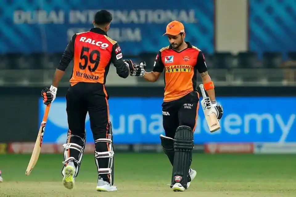 In the 40th match of the Indian Premier League (IPL) 2020, Sunrisers Hyderabad (SRH) beat Rajasthan Royals (RR) by 8 wickets at Dubai International Cricket Stadium. Aided by Manish Pandey and Vijay Shankar's destructive partnership, SRH successfully chased down the target of 155 runs given by the RR tonight. Manish Pandey played an explosive innings of undefeated 83 runs off 47 balls. Jason Holder also shined for the SRH with him grabbing 3 wickets tonight. With tonight's win against Rajasthan Royals, Sunrisers Hyderabad now stands at the 5th position in the points table of the 13th edition of IPL. Whereas, Rajasthan Royals are on the verge of losing their hopes of making into the playoffs of the IPL 2020.