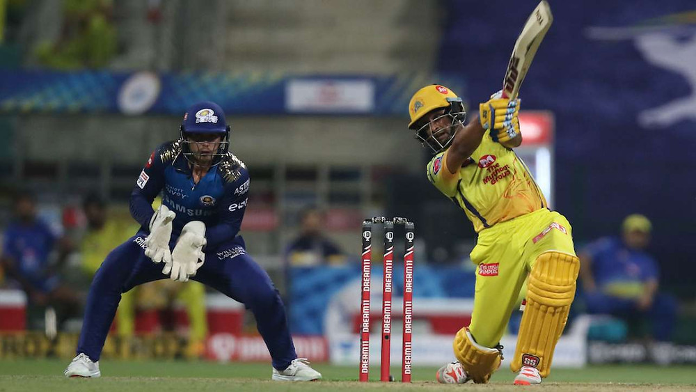 In the season opener of the Indian Premier League 2020, Chennai Super Kings (CSK) chases down Mumbai Indians (MI) at the Sheikh Zayed Stadium in Abu Dhabi. Ambati Rayudu and Faf du Plessis's half-century played a vital role for CSK to beat MI by five wickets. The CSK's victory in the season opener also marks as Dhoni's 100th win as CSK skipper.