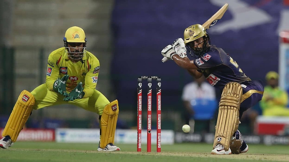 In the 21st match of the Indian Premier League (IPL) 2020, Kolkata Knight Riders (KKR) beat Chennai Super Kings (CSK) by 10 runs at Sheikh Zayed Stadium in Abu Dhabi. Rahul Tripathi became the solo match performer for the KKR with his brilliant knock of 81 runs off 51 balls. Tripathi's classy knock allowed the KKR to give an average target of 168 runs for the CSK to chase. However, CSK's bowlers dominated and destroyed the complete batting line-up of KKR tonight. DJ Bravo grabbed 3 crucial wickets for the CSK in his brilliant spell. CSK's middle batting line-up failed to chase the target given by the KKR tonight. With tonight's win, KKR now stands at the 3rd position in the points table of the 13th edition of IPL.
