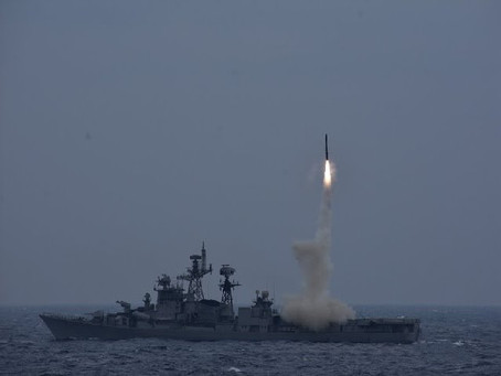 DRDO: Indian Navy conducts successful test-firing of BrahMos Cruise Missile in Anti-Ship mode