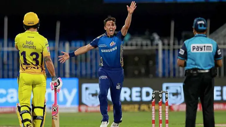 In the 41st match of the Indian Premier League (IPL) 2020, Mumbai Indians (MI) beat Chennai Super Kings (CSK) by 10 wickets at Sharjah Cricket Stadium in UAE. MI bowlers destroyed the batting line-up of CSK tonight with Trent Boult grabbing 4 huge wickets, while Jasprit Bumrah and Rahul Chahar taking 2 wickets each. After a sudden collapse in the early, aided by Sam Curran's brilliant knock of 52 runs off 47 balls, CSK gave a very low target of 114 runs for MI to chase tonight. MI openers Quinton de Kock and Ishan Kishan singlehandedly chased down the target given by the CSK tonight with their brilliant partnership. Due to a hamstring injury, Rohit Sharma couldn't play tonight. Instead, Kieron Pollard became the skipper against CSK tonight. With tonight's win against CSK, MI now stands at the top position in the points table of the 13th edition of IPL. Whereas, CSK with its massive loss against MI tonight, remains at the bottom of the points table of IPL 2020.