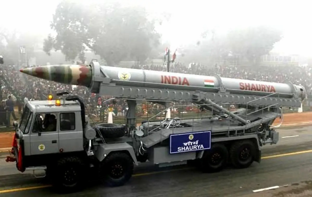 DRDO: India today successfully test-fired a new version of Shaurya surface-to-surface nuclear-capable ballistic missile, which can hit targets at around 800 km range at Odisha's Balasore. The Missile will complement the existing class of missile system and will be lighter & easier to operate according to ANI news agency.