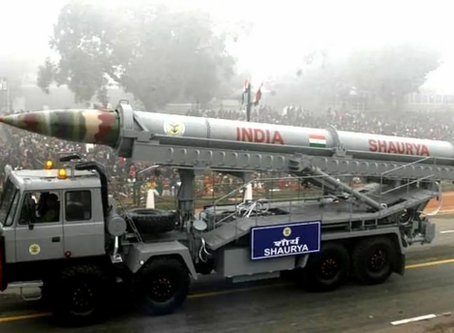 India successfully test-fires advanced version of 'Shaurya' nuclear-capable ballistic missile