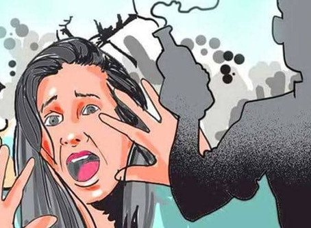 Three minor sisters in Uttar Pradesh attacked with acid while asleep by unknown persons