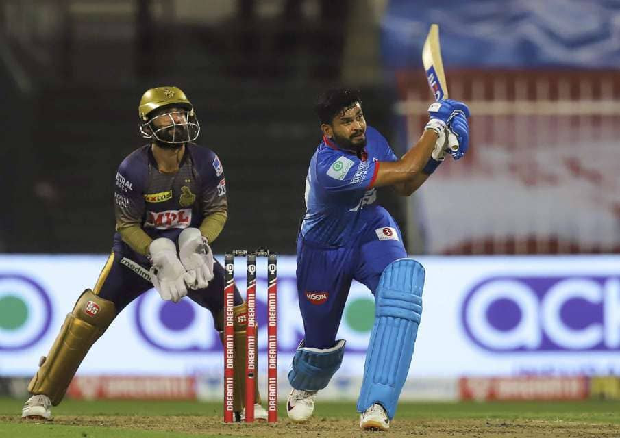 Dinesh Karthik won the toss and elected to field first, allowing Delhi Capitals' brilliant innings to start. Openers Prithvi Shaw and Shikhar Dhawan gave DC an amazing start with the former scoring 66 runs off 41 balls, while the latter scoring 26 runs off 16 balls. After the fall of the wicket of Dhawan, Skipper Shreyas Iyer came to the crease and played explosive innings consisting of 6 sixes and 7 fours. After Prithvi Shaw lost his wicket, Rishabh Pant came to the crease and made quick 38 runs off 17 balls. Shreyas Iyer remained undefeated as he made 88 runs for the DC tonight. Delhi Capitals were successful in giving a very high target of 229 runs for the KKR to chase. Andre Russell remained the most economical bowler in his spell while also taking 2 wickets.