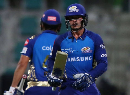 IPL 2020, MI vs KKR: Quinton de Kock blasts off MI to victory against KKR by 8 wickets