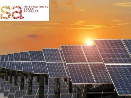 India re-elected as the President of International Solar Alliance (ISA)