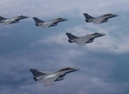 Formal Rafale induction ceremony on September 10| French Defence Minister in Attendance