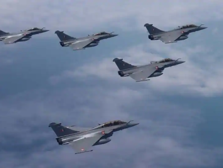 Formal Rafale induction ceremony on September 10  French Defence Minister in Attendance