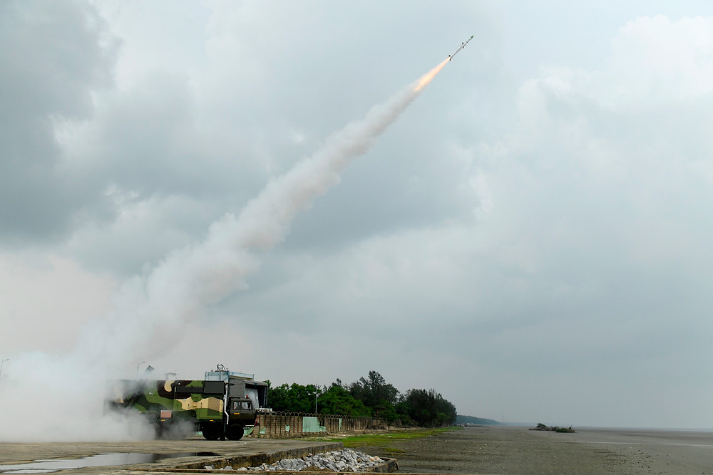 Defence Research & Development Organisation (DRDO) on July 21 conducted a successful flight-test of the New Generation Akash Missile (Akash-NG), a surface-to-air Missile from Integrated Test Range (ITR) off the coast of Odisha. The flight trial was conducted at around 12:45 PM from a land-based platform with all weapon system elements such as Multifunction Radar, Command, Control & Communication System and launcher participating in the deployment configuration.
