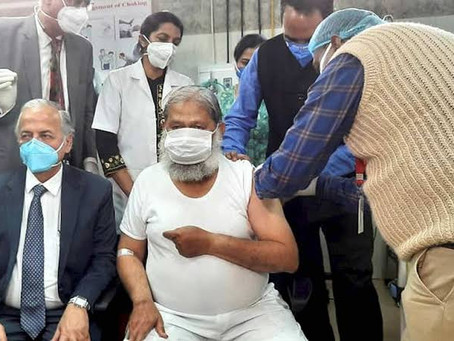 Haryana Minister Anil Vij test COVID-19 positive a few days after taking voluntary dose of COVAXIN