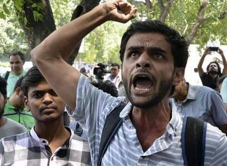 Former JNU student Umar Khalid arrested in North-East Delhi Riots case