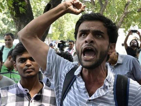 Former JNU student Umar Khalid arrested in North-East Delhi Riots case